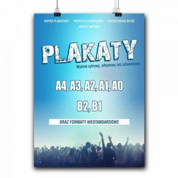 plakaty, reklama nowy targ